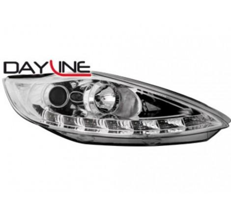 Тунинг диодни фарове - Dayline за Ford Fiesta MK7 (2008-2010) [140014]