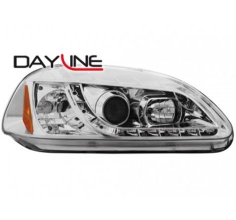 Тунинг диодни фарове - Dayline за Honda Civic 2/5 врати (1996-1998) [150013]