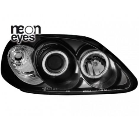 Тунинг фарове Neon Angel Eyes CCFL за Honda Civic 2/5 врати (1996-1998) [150015]