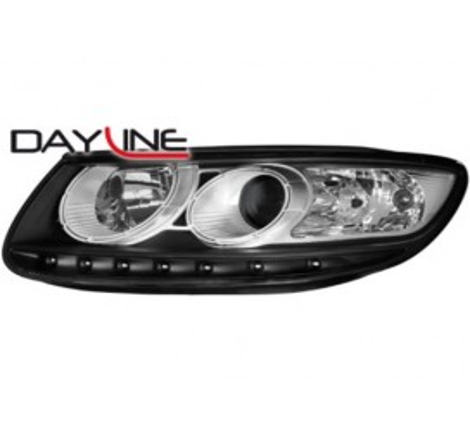 Тунинг диодни фарове - Dayline за Hyundai Santa Fe (2006-2009) [26003]