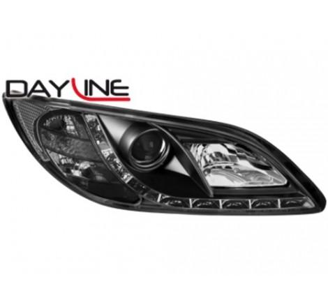 Тунинг диодни фарове - Dayline за Mazda 3 (2003-2008) [123002]