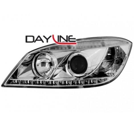 Тунинг Диодни фарове Dayline за Mercedes Benz W204 C Class (2007-2011) [160015]