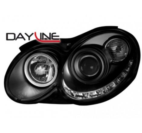 Тунинг диодни фарове - Dayline за Mercedes Benz CLK W209 C Class (2003-2008) [160020]