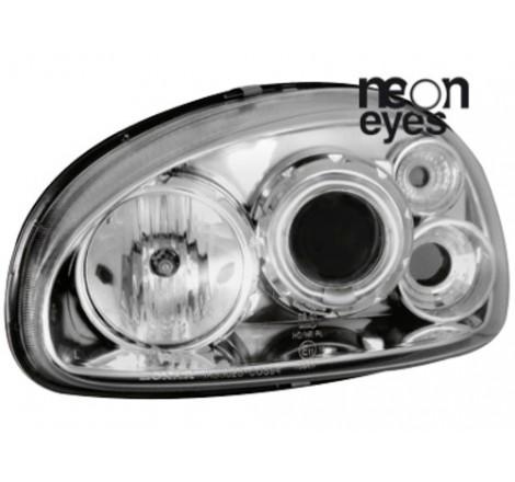 Тунинг фарове Neon Angel Eyes за Opel Corsa B (1993-2001) [1190053]