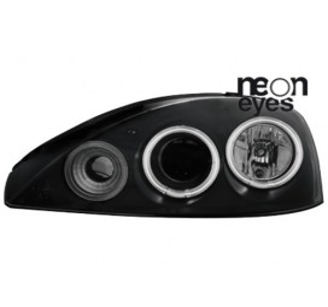 Тунинг фарове Neon Angel Eyes CCFL за Opel Corsa C (2001-2006) [1190065]