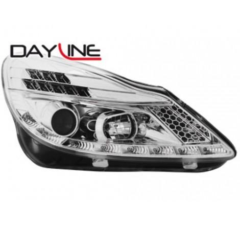 Тунинг диодни фарове - Dayline за Opel Corsa D (2006- ) [1190074]