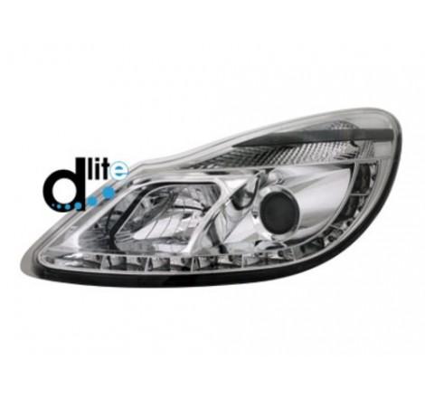Тунинг диодни фарове - D-Lite за Opel Corsa D (2006- ) [1190076]