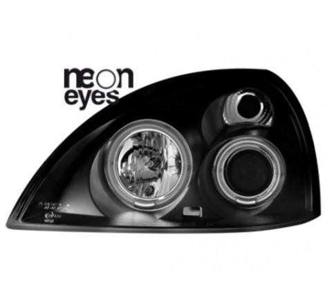 Тунинг фарове Neon Angel Eyes CCFL за Renault Clio MK3 (2001-2005) [180014]