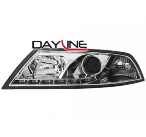 Тунинг диодни фарове - Dayline за Škoda Octavia (2004-2009) [114007]