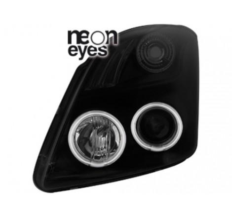Тунинг фарове Neon Angel Eyes CCFL за Suzuki Swift (2005-2010) [112004]