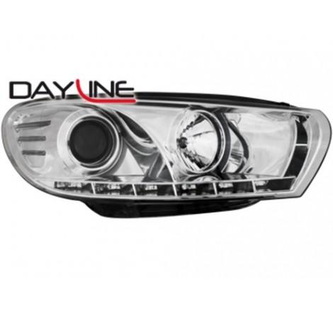 Тунинг диодни фарове - Dayline за Volkswagen Scirocco III (2008+) [1900167]