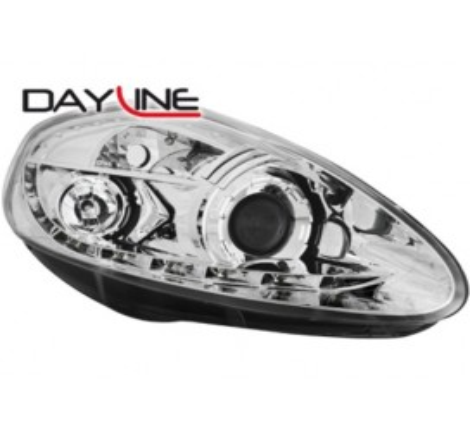 Тунинг диодни фарове - Dayline за Fiat Grande Punto (2005-2008) [129009]