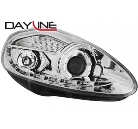 Тунинг диодни фарове - Dayline за Fiat Grande Punto (2005-2008) [1290011]