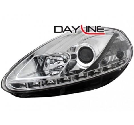Тунинг диодни фарове - Dayline за Fiat Grande Punto (2008-2009) [1290013]