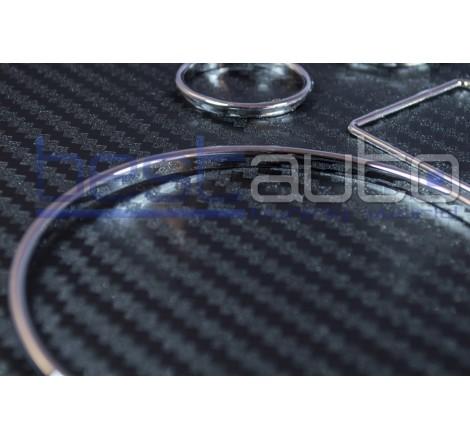 Рингове за табло хром за Audi A6-4B (1997-2001) (2001-2004) [11206]