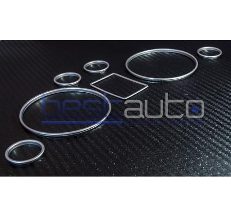 Рингове за табло мат хром за Audi A6-4B (1997-2001) (2001-2004) [11210]