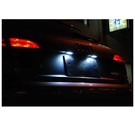 LED плафони за регистрационен номер за Audi Q7/A3/A4/A6/S6 (2004-2009)