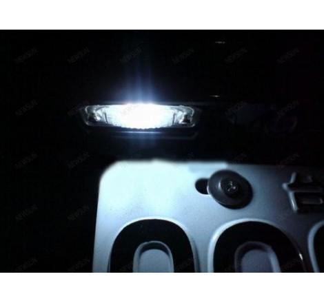 LED плафони за регистрационен номер за Mercedes C-Class W204 4врати / E-Class W210