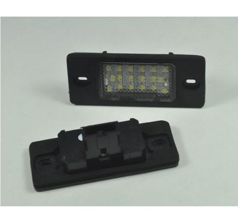 LED плафони за регистрационен номер за VW Touareg / Tiguan / Golf 5 комби / VW Passat 5.5 комби 2000-2005 / Porsche Cayenne