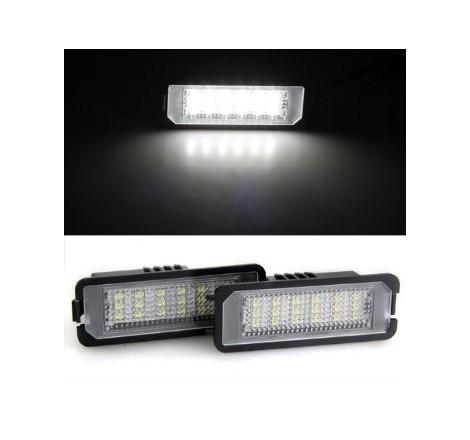 LED плафони за регистрационен номер за Volkswagen Golf 6