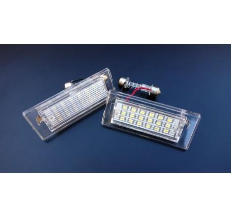 LED плафони за регистрационен номер за BMW X5 E53 (1999-2006)