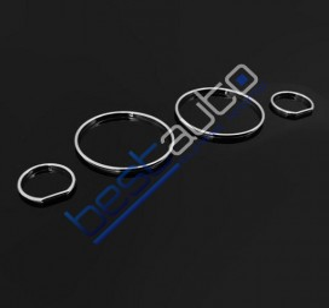 Рингове за табло БМВ Е32 / BMW E32 [11302]