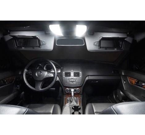 Комплект LED интериорно осветление за Mercedes C-Class W204 (2008+)