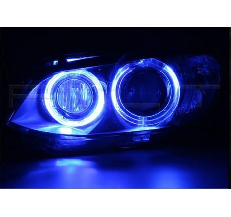 LED крушки за фабрични ангелски очи 25W за BMW E39 / БМВ Е39 (2000-2003) - сини