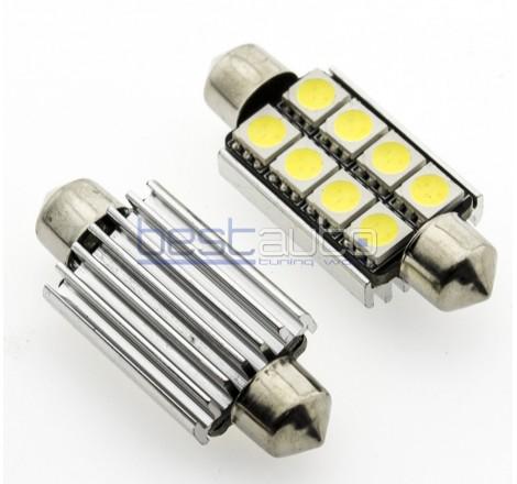 LED крушки Canbus C10W 42мм - 2 броя [C10]