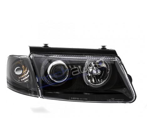 Тунинг фарове Angel Eyes за Volkswagen Passat 3B (1996-2000) [1900127]