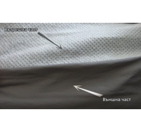 Покривало за автомобил - Размер S