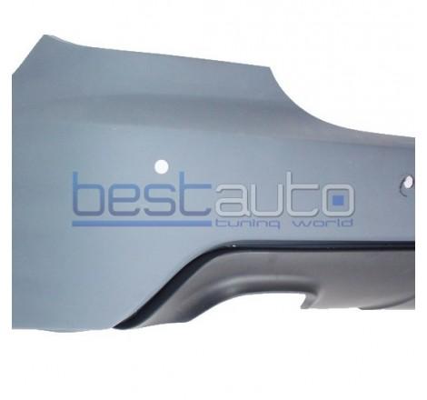Задна M TECHNIK броня за BMW E60 / E61 (2007-2010) PDC 18мм