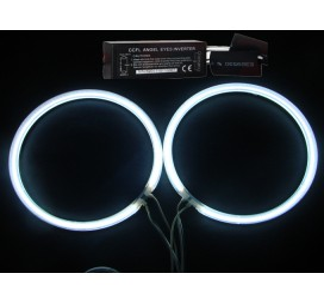 CCFL Универсални ангелски очи бели - 80мм