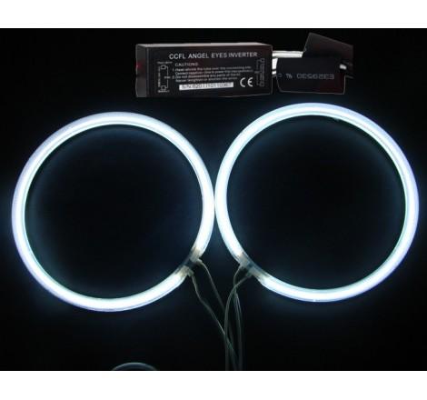 CCFL Универсални ангелски очи бели - 90мм