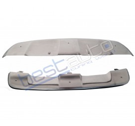 Комплект степенки + протектори за броните на BMW X6 E71 (2008+)