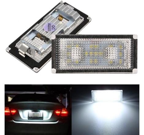 LED плафони за регистрационен номер за BMW E66