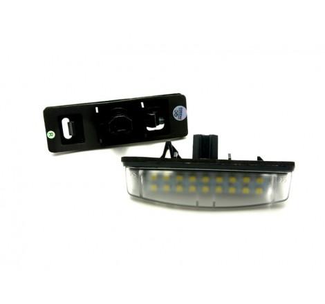 LED плафони за регистрационен номер за Toyota Avensis/Corolla Verso/Camry/Auri