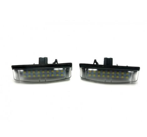 LED плафони за регистрационен номер за Mitsubishi Colt Plus / Grandis