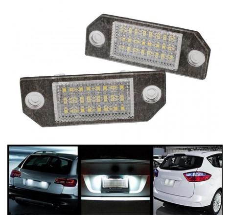 LED плафони за регистрационен номер за Ford Focus C-Max (03+) / MK2 (03-09)