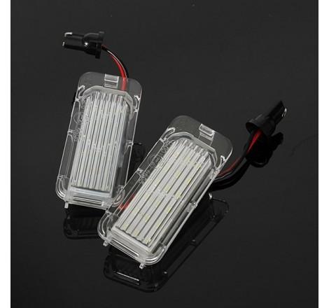 LED плафони за регистрационен номер за Ford Fiesta/Focus/Kuga/Mondeo (2008+)