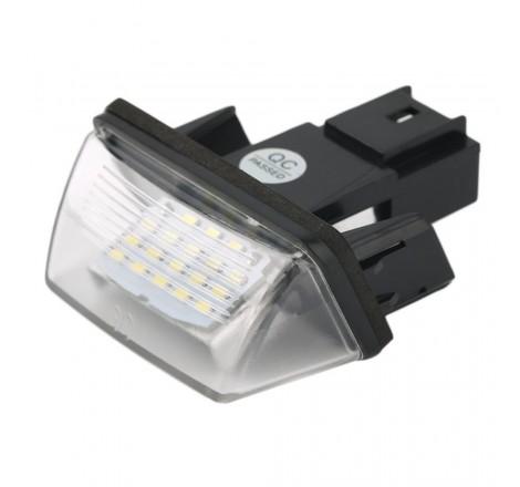 LED плафони за регистрационен номер за Citroen C3 / C3 II / C3/C4 Picasso