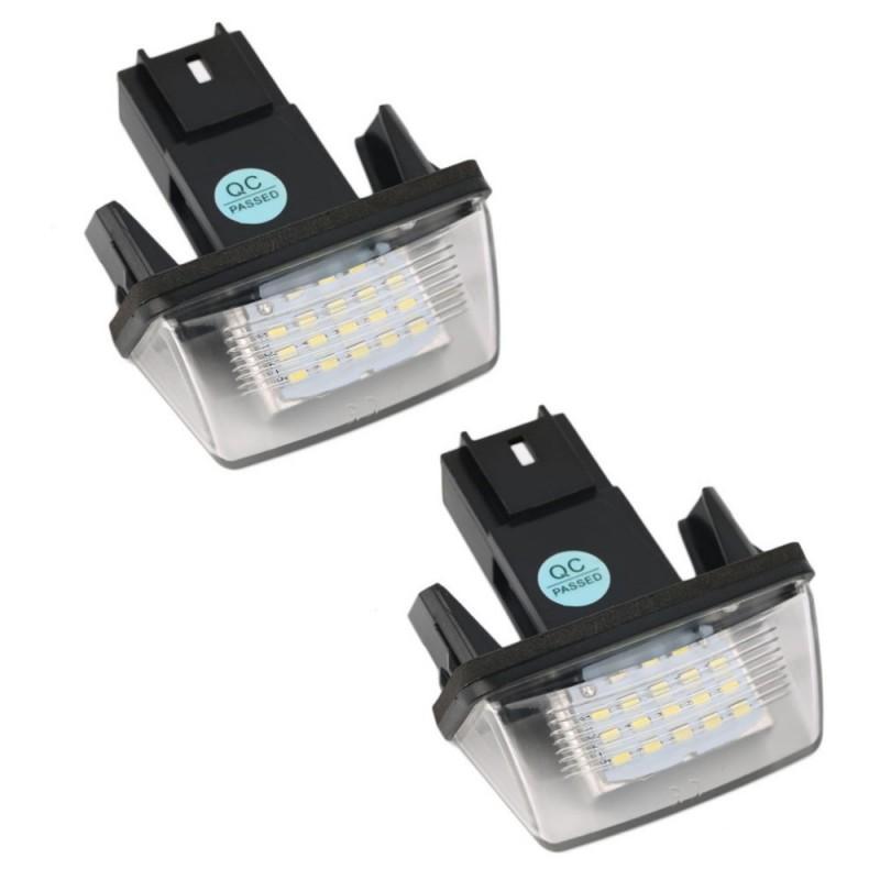 LED плафони за регистрационен номер за Peugeot 206/306/207/307/407406