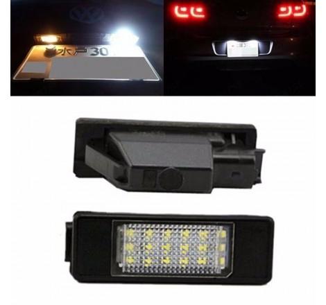 LED плафони за регистрационен номер за Peugeot 106/1007/207/307/308/3008/406/407/508/806