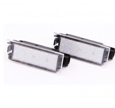 LED плафони за регистрационен номер за Renault Twingo 2/Clio3/Megane2/Laguna3