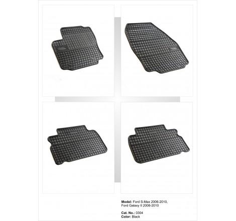Гумени стелки Frogum за Форд Галакси 2 / Ford Galaxy II (2006-2010) [G4016]
