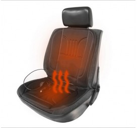 Постелка за седалка с подгряваща функция