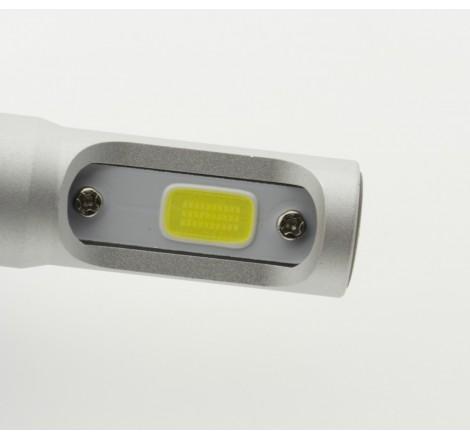Диодни LED крушки за фарове H10 8000L 6500K