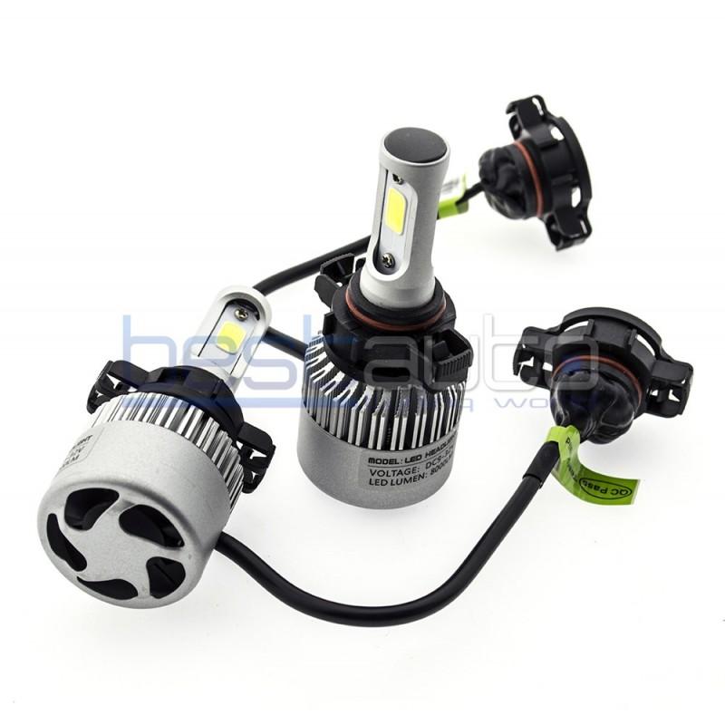 Диодни LED крушки за фарове H16 (EU) 8000L 6500K