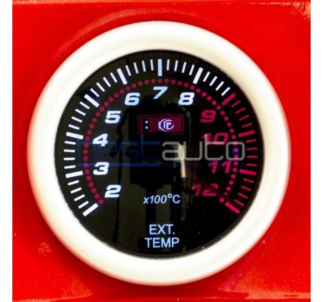 Измервателен уред за температурата на изгорелите газове