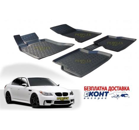 Гумени стелки тип леген 3D за BMW E60 (2003-2010) [G3032]